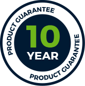 10 Year Product Guarantee