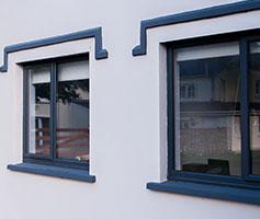Ultra slim aluminium frames