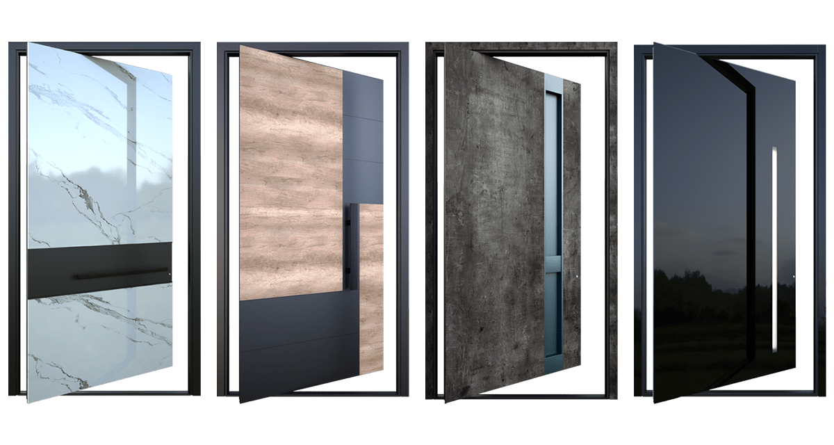 Valha Pivot Doors